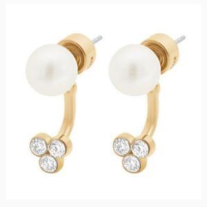Jewelry - Michael kors pearl earrings
